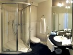 Badezimmer Hotel, Wiesbaden Hotelbad, moderne Dusche Town Hotel